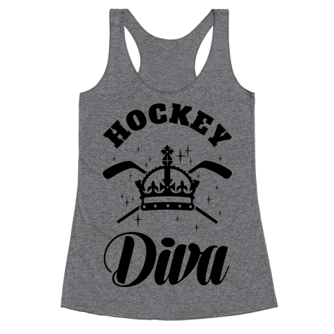Hockey Diva Racerback Tank Top