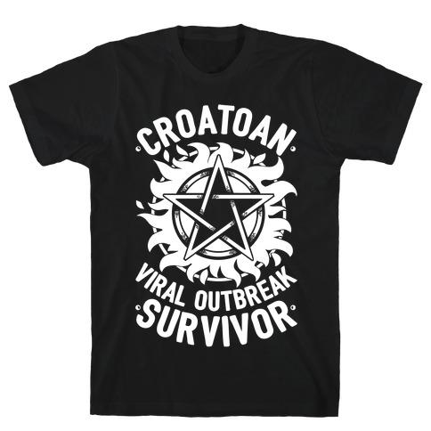 Croatoan Virus Outbreak Survivor T-Shirt