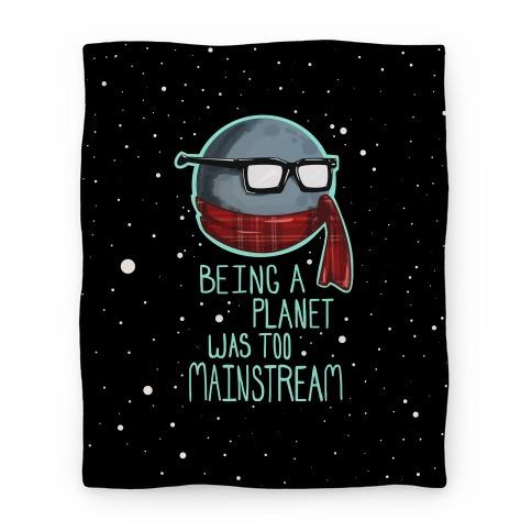 Hipster Pluto Blanket Blanket