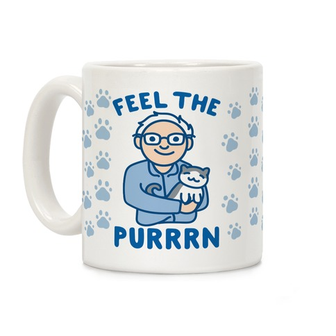 Feel The Purrrn Parody Coffee Mug