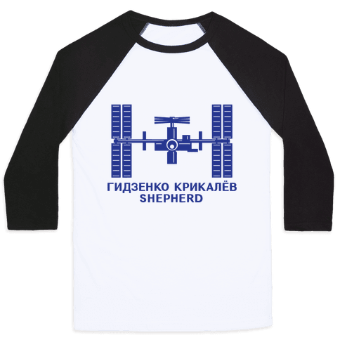 International Space Station Insignia Baseball Tee