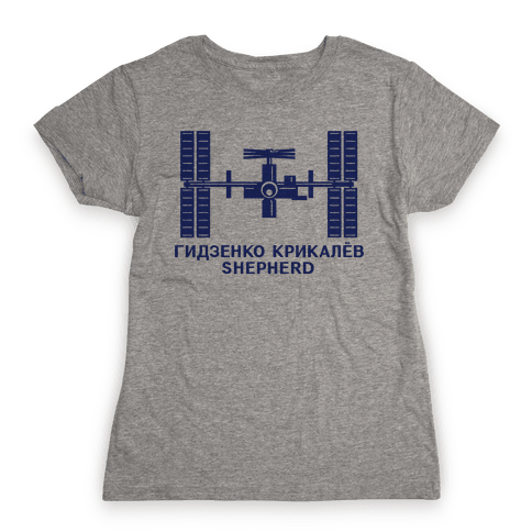 International Space Station Insignia Womens T-Shirt