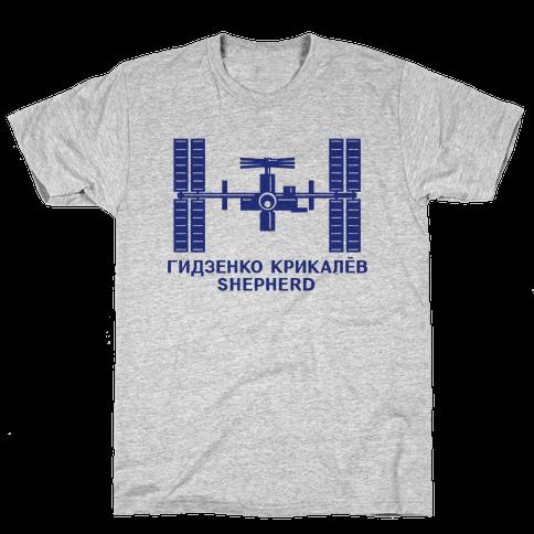 International Space Station Insignia Mens T-Shirt