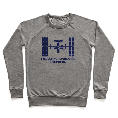 International Space Station Insignia Pullover