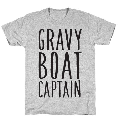 Gravy Boat Captain T-Shirt