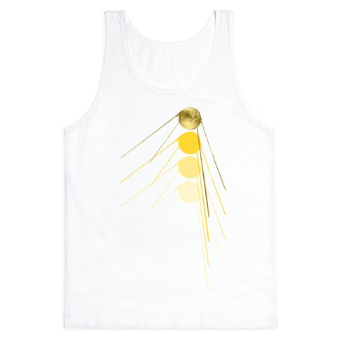 Sputnik Gold Tank Top