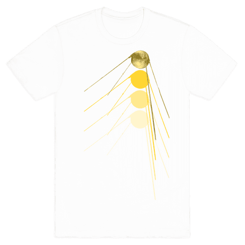 Sputnik Gold Mens T-Shirt