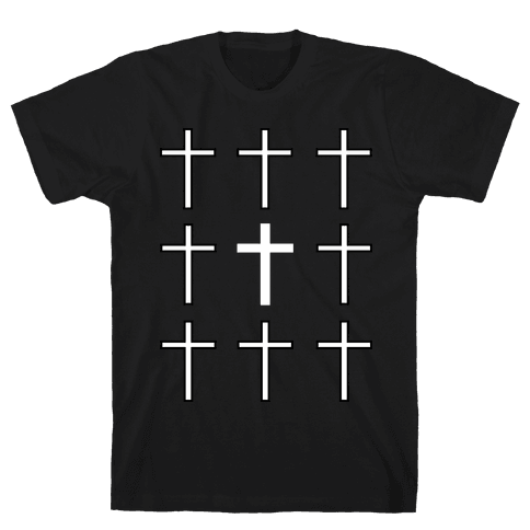 Crosses Mens T-Shirt