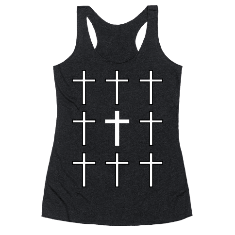Crosses Racerback Tank Top