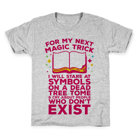 Book Magic Trick Kids T-Shirt