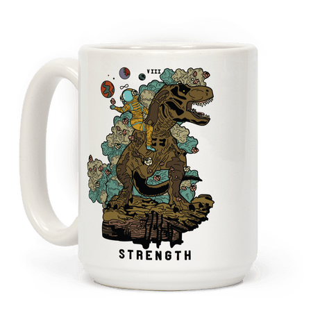 Dinosaur Strength Tarot