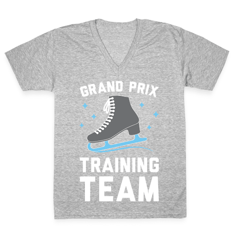 Grand Prix Training Team V-Neck Tee Shirt