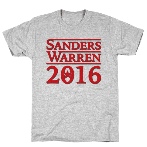Sanders Warren 2016 Mens T-Shirt
