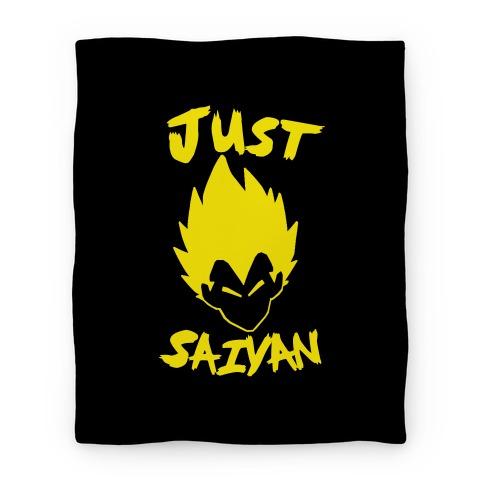Just Saiyan Blanket Blanket