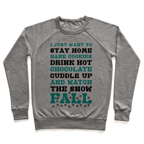 Snow Fall Pullover