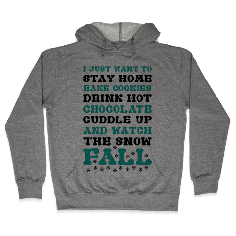 Snow Fall Hooded Sweatshirt