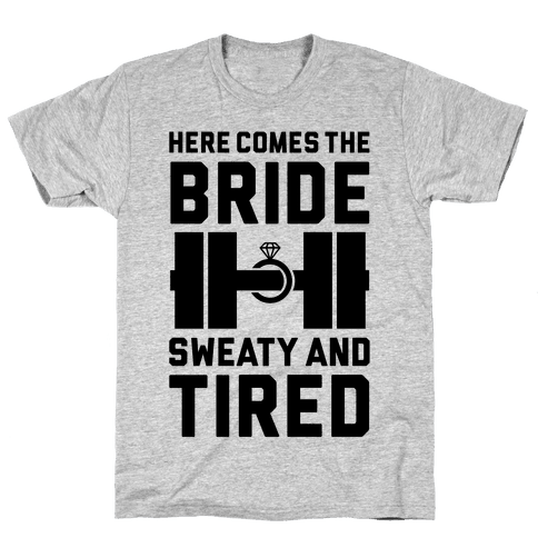 Here Comes The Bride Mens T-Shirt