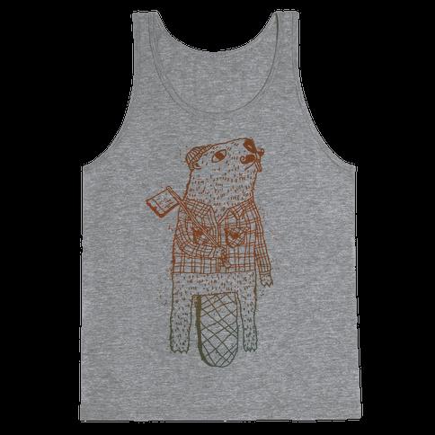 Beaver Lumberjack Tank Top
