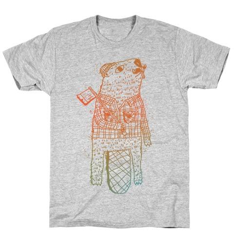 Beaver Lumberjack T-Shirt