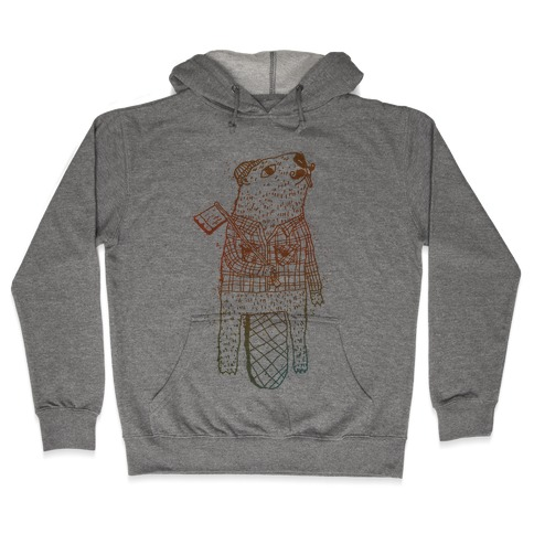 Beaver Lumberjack Hooded Sweatshirt