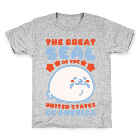 The Great Seal of The United States of America Kids T-Shirt