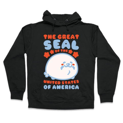 The Great Seal of The United States of America Hooded Sweatshirt