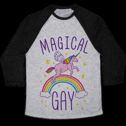 Magical Gay Baseball Tee
