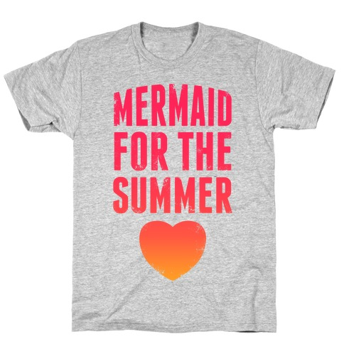 Mermaid For The Summer (Pink) T-Shirt