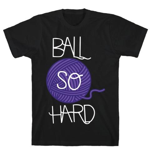 Yarn So Hard (Dark) T-Shirt