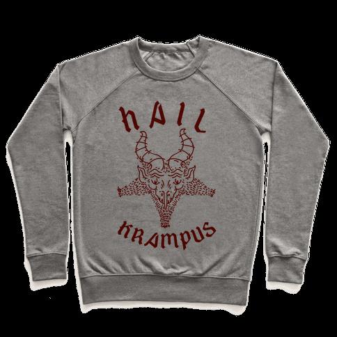 Hail Krampus Pullover