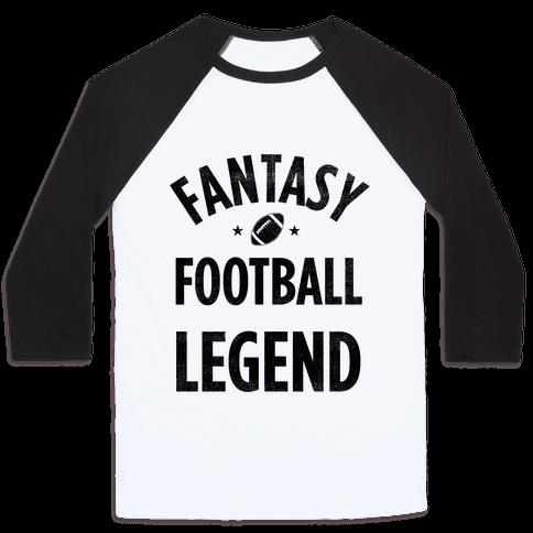 Fantasy Football Legend Baseball Tee