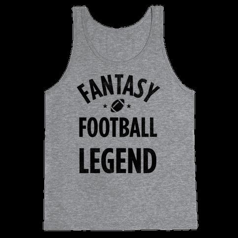 Fantasy Football Legend Tank Top