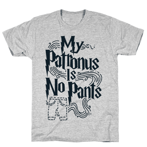 My Patronus is No Pants Mens T-Shirt