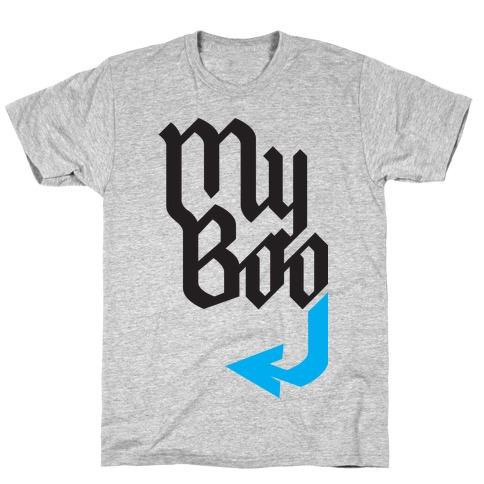 My Boo( Blue half) T-Shirt