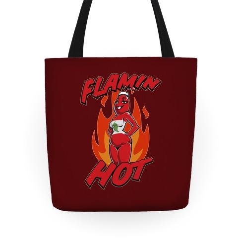 Flamin' Hot Sexy Hot Sauce Tote