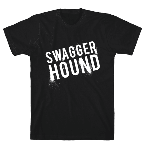 Swagger Hound Mens T-Shirt