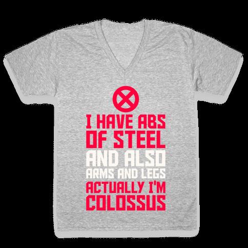 Actually I'm Colossus V-Neck Tee Shirt