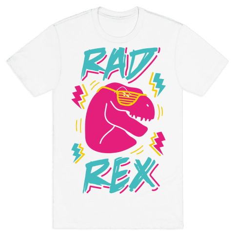 Rad Rex Mens T-Shirt