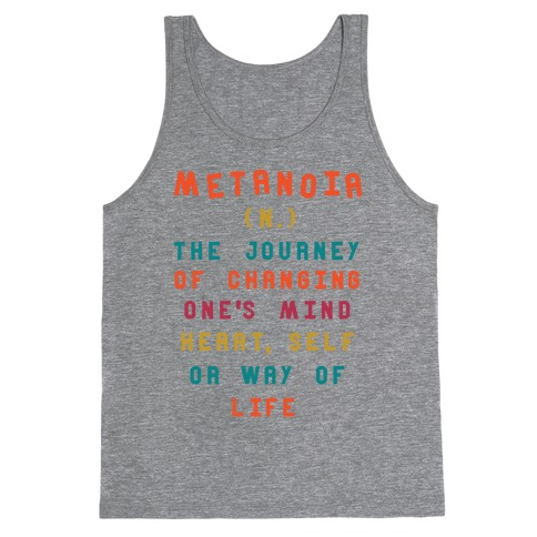 Metanoia Definition Tank Top