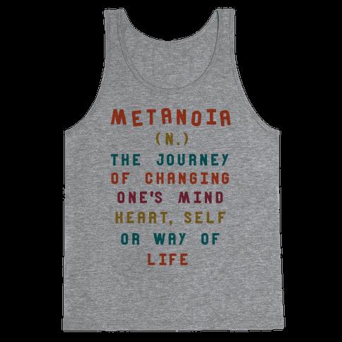 Metanoia Definition Tank Top