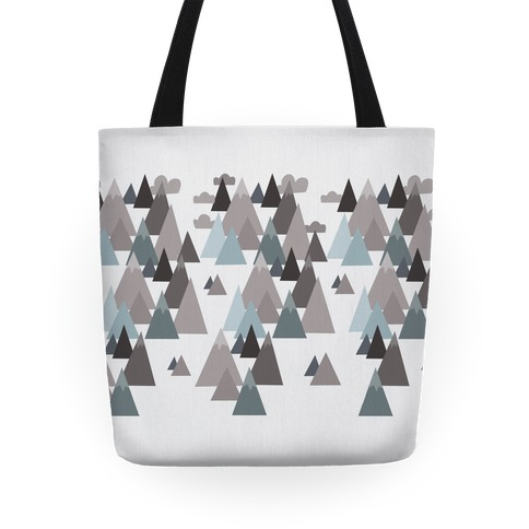 Winter Mountains Tote