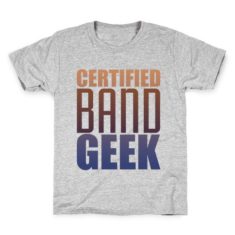 Certified Band Geek Kids T-Shirt