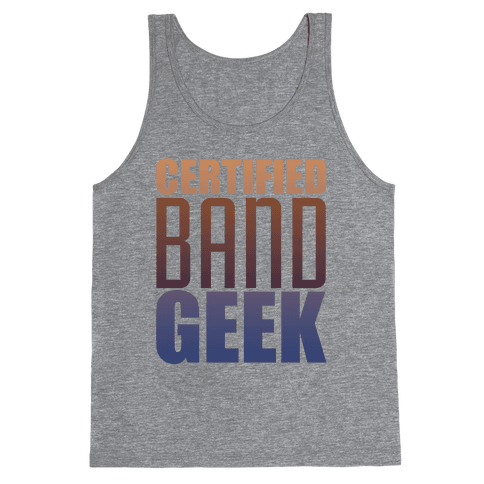 Certified Band Geek