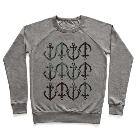 Anchor Pattern Pullover