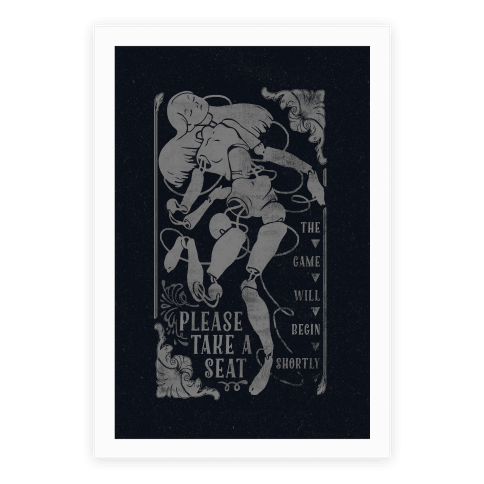 Death Parade Doll Poster