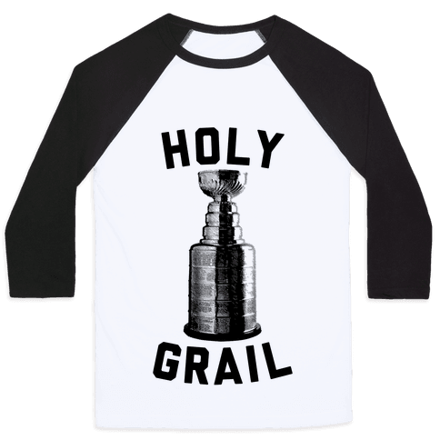 Holy Grail Baseball Tee
