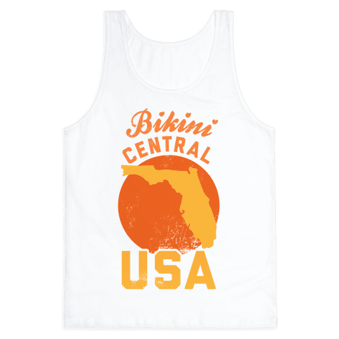 Bikini Central USA (Florida) Tank Top