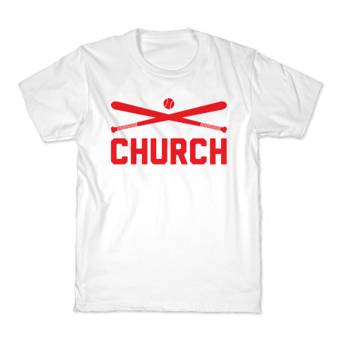 Baseball Church Kids T-Shirt