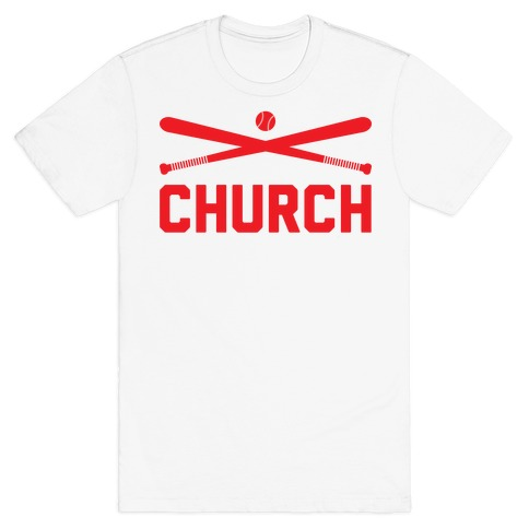 Baseball Church T-Shirt