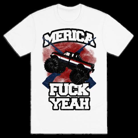 Merica F*** Yeah Mens T-Shirt